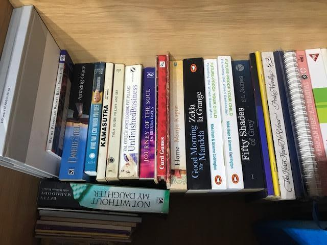 Second hand books in excellent condition for sale R10.00 each