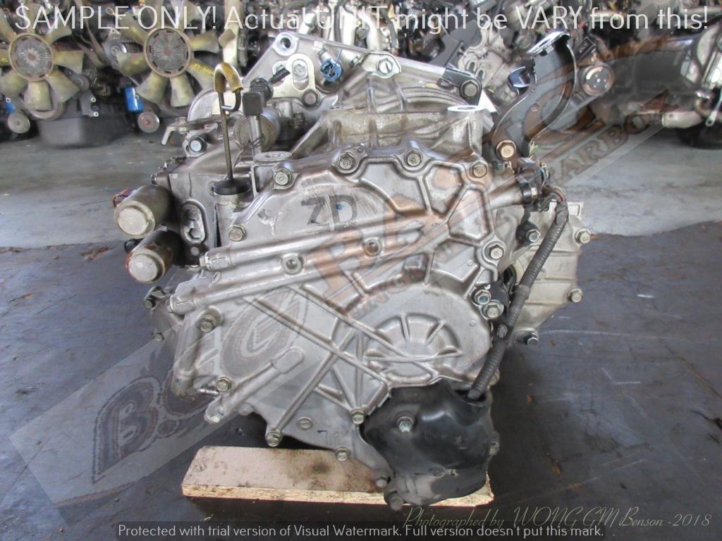 HONDA K20Z2 2WD AUTO FWD Gearbox -Code: MPMA