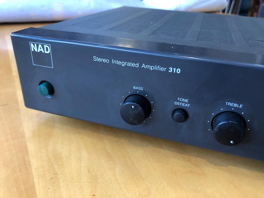 NAD 310 Stereo Integrated Amplifier - Sound performance 1st!