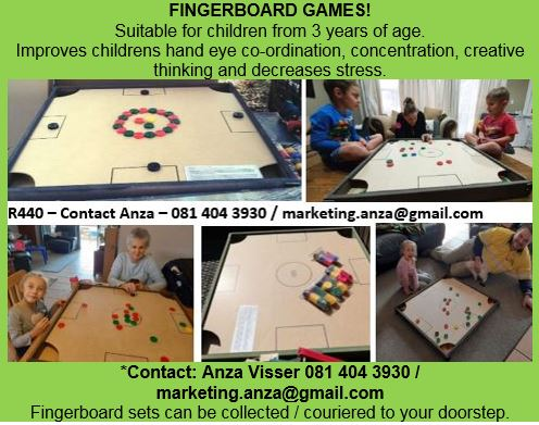 WOODEN GAMES: Fingerboards R440- Contact Anza directly on 081 404 3930 to collect or be delivered.