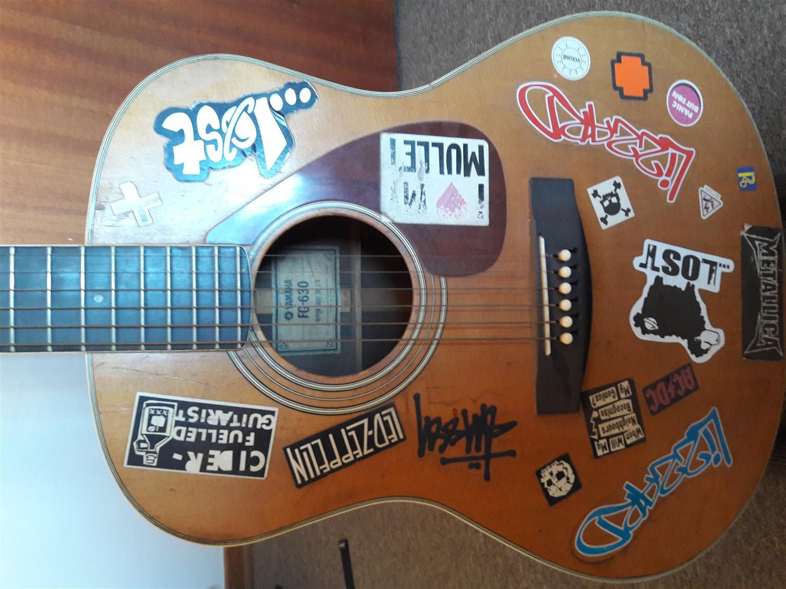 Yamaha FG 630 12 String Vintage Guitar (1970s)