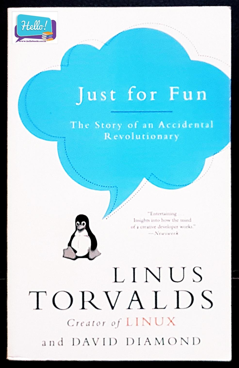 Linus Torvalds & David Diamond Just for Fun