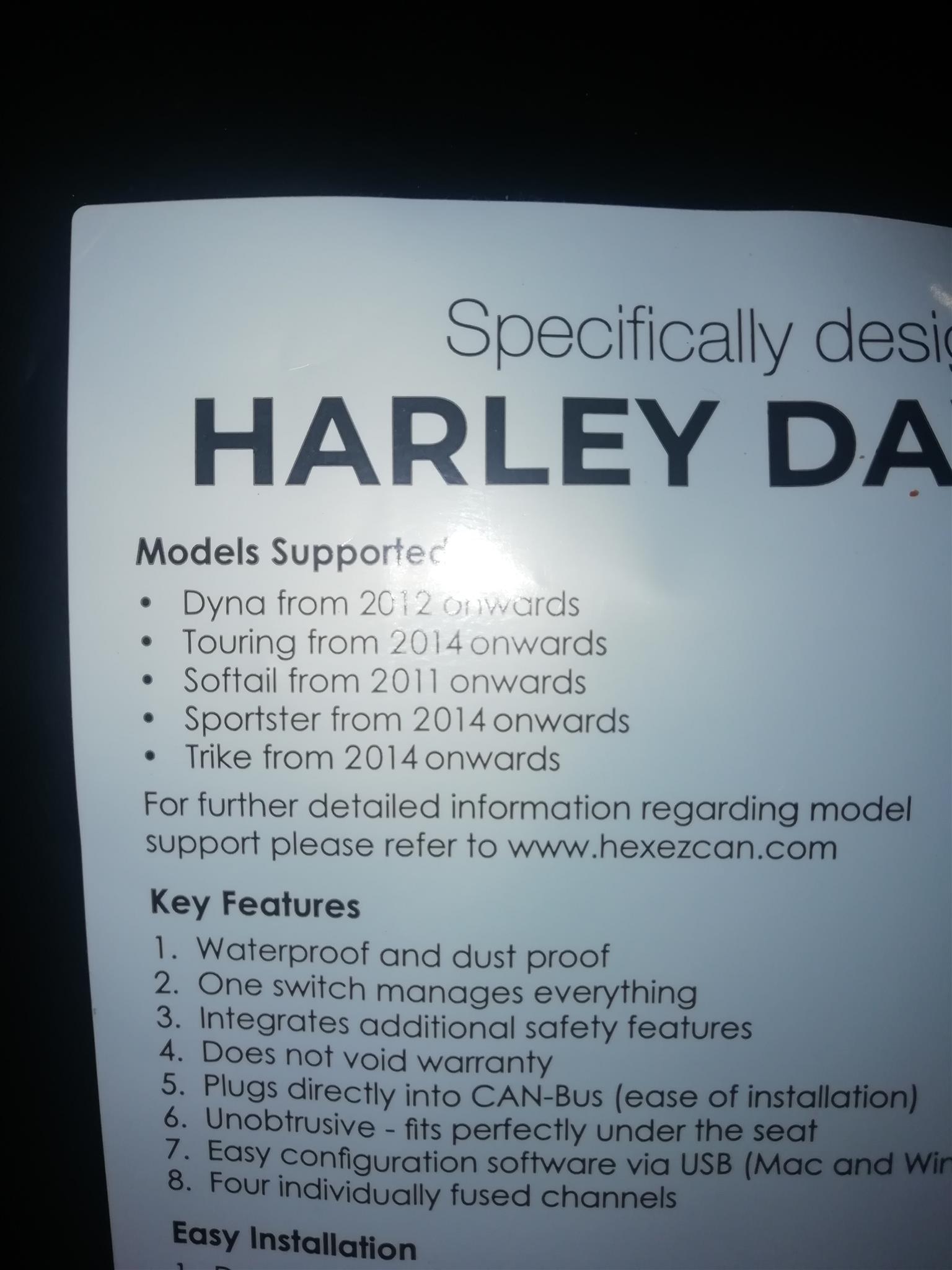 2019 Harley Davidson Custom