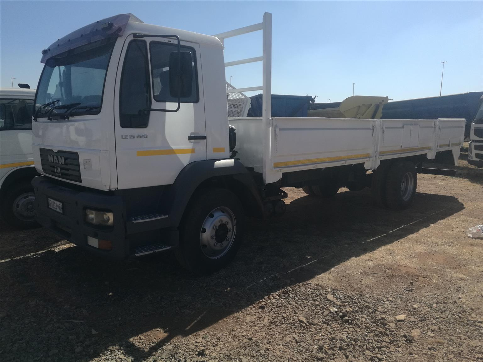 MAN DROPSIDE LE 15 220 FOR SALE. POSTED BY MUHAMMAD