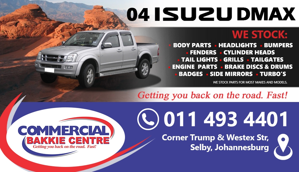isuzu dmax spare parts new