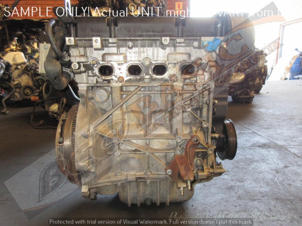 FORD FIESTA -SPJA 1.4L EFI 16V DURATEC Engine