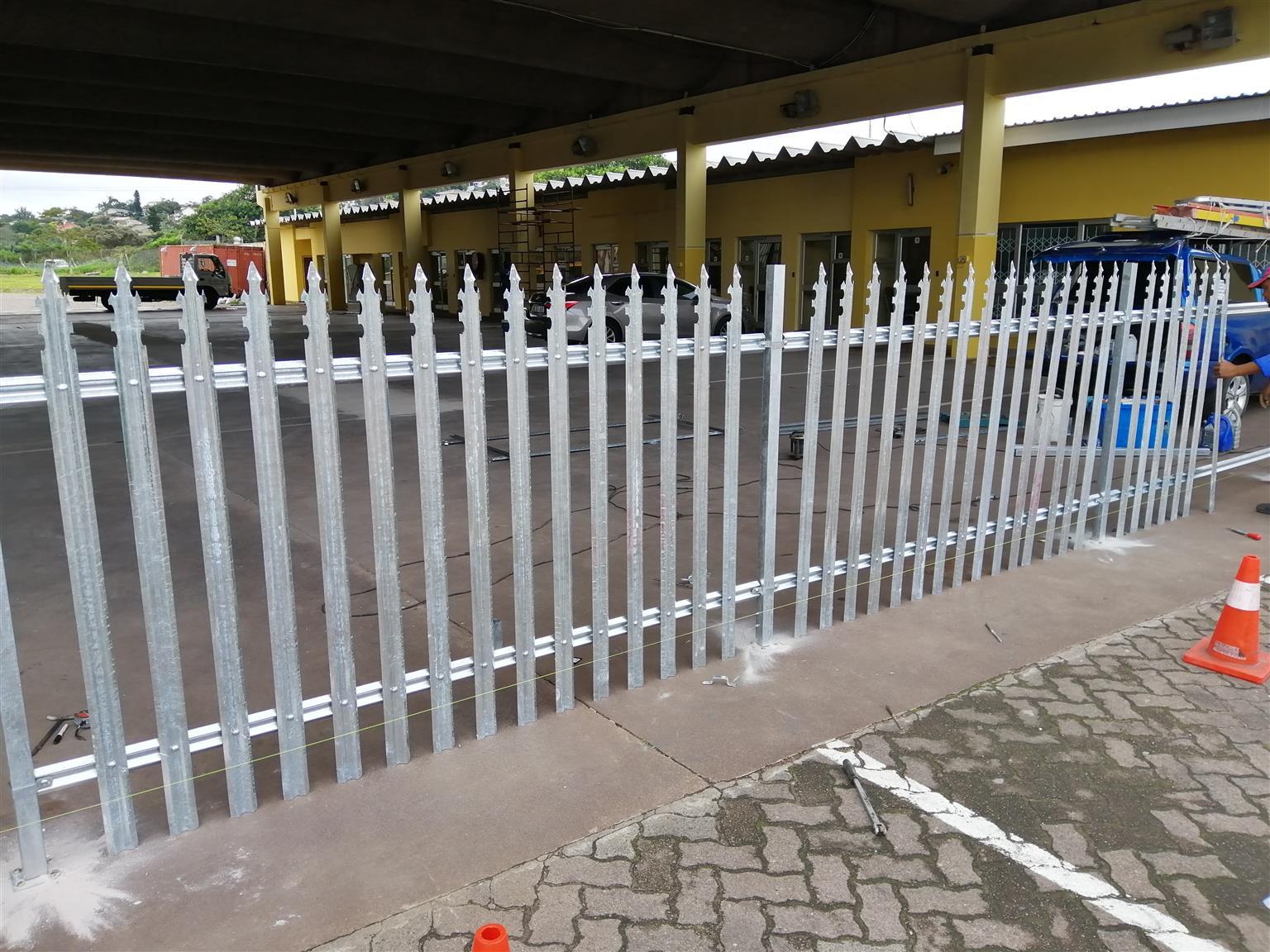 Carport an fencing