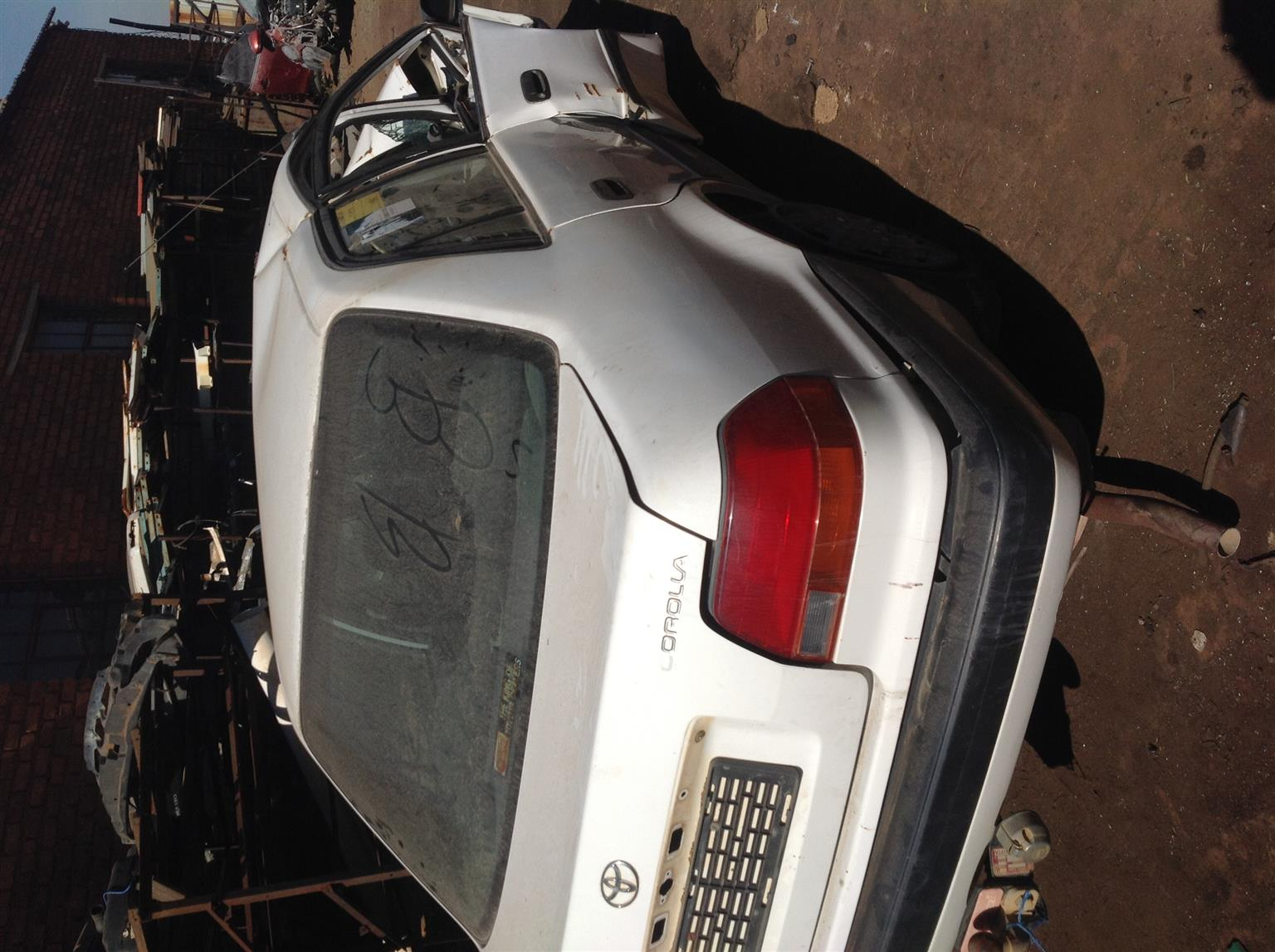 Stripping Toyota Corolla AE100 GLE 1998 for Spares