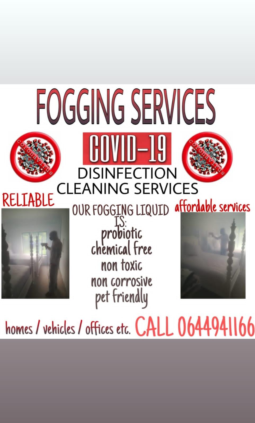 Probiotic fogging treatment