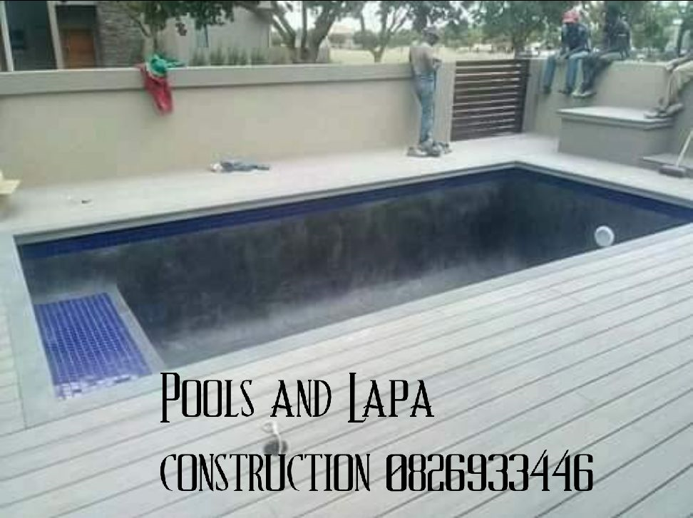 Pools and Lapa construction