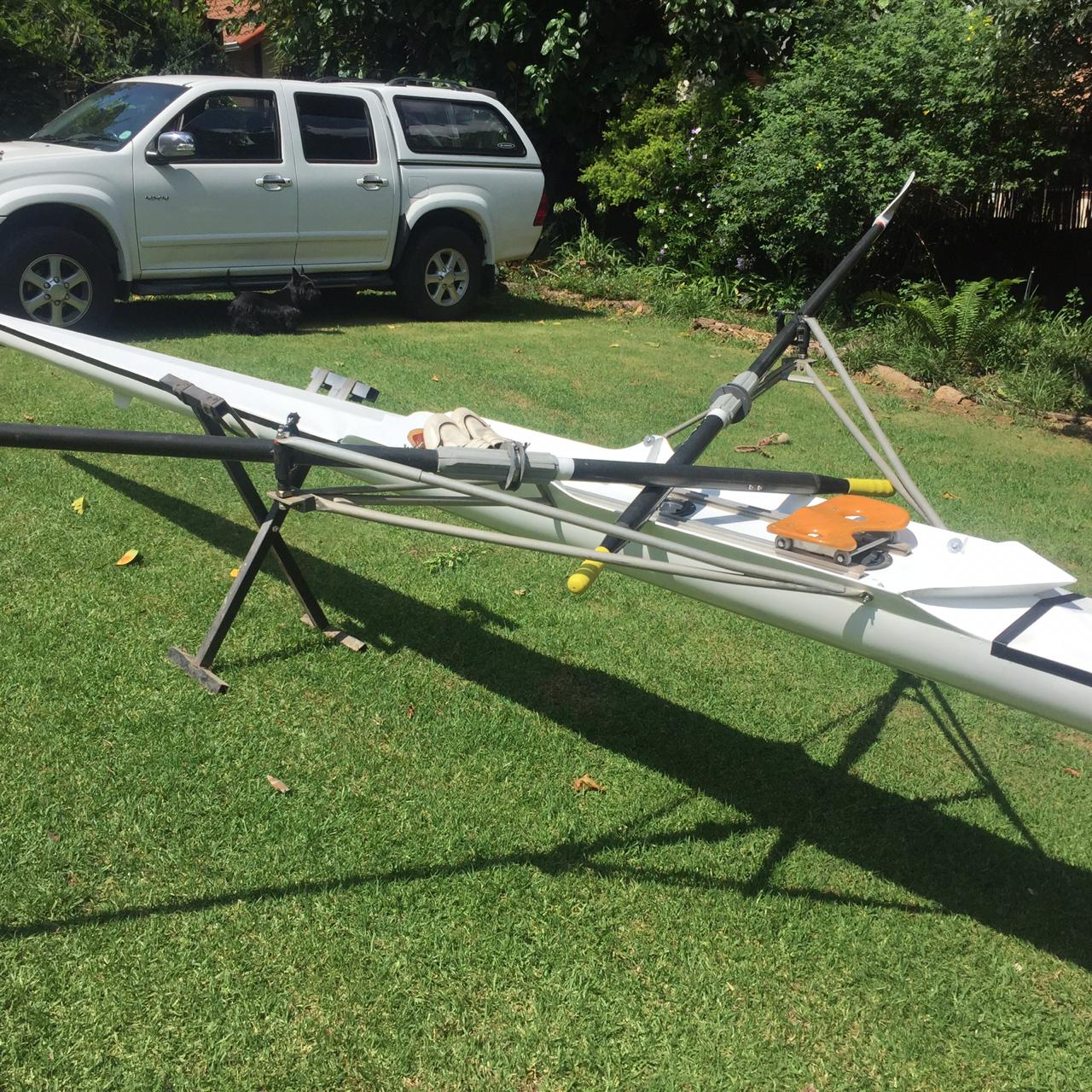 Lightweight Scull with Blades for Sale