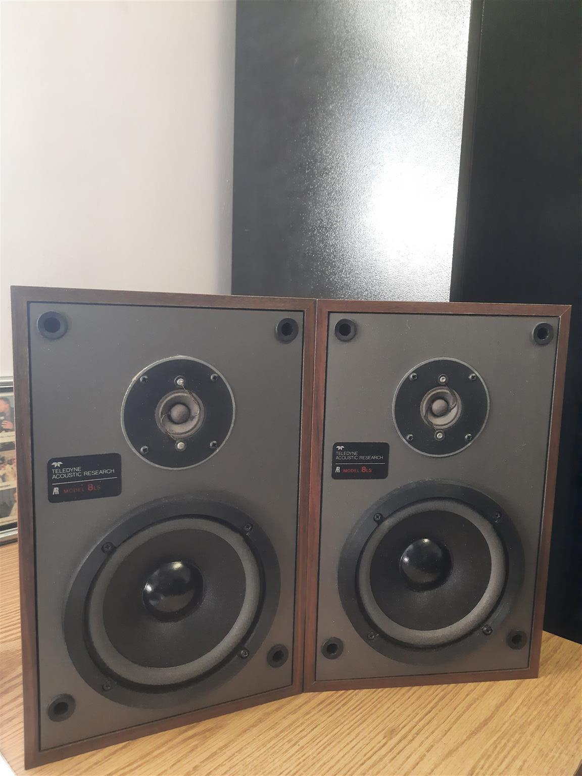 Acoustic Research 8LS Speakers