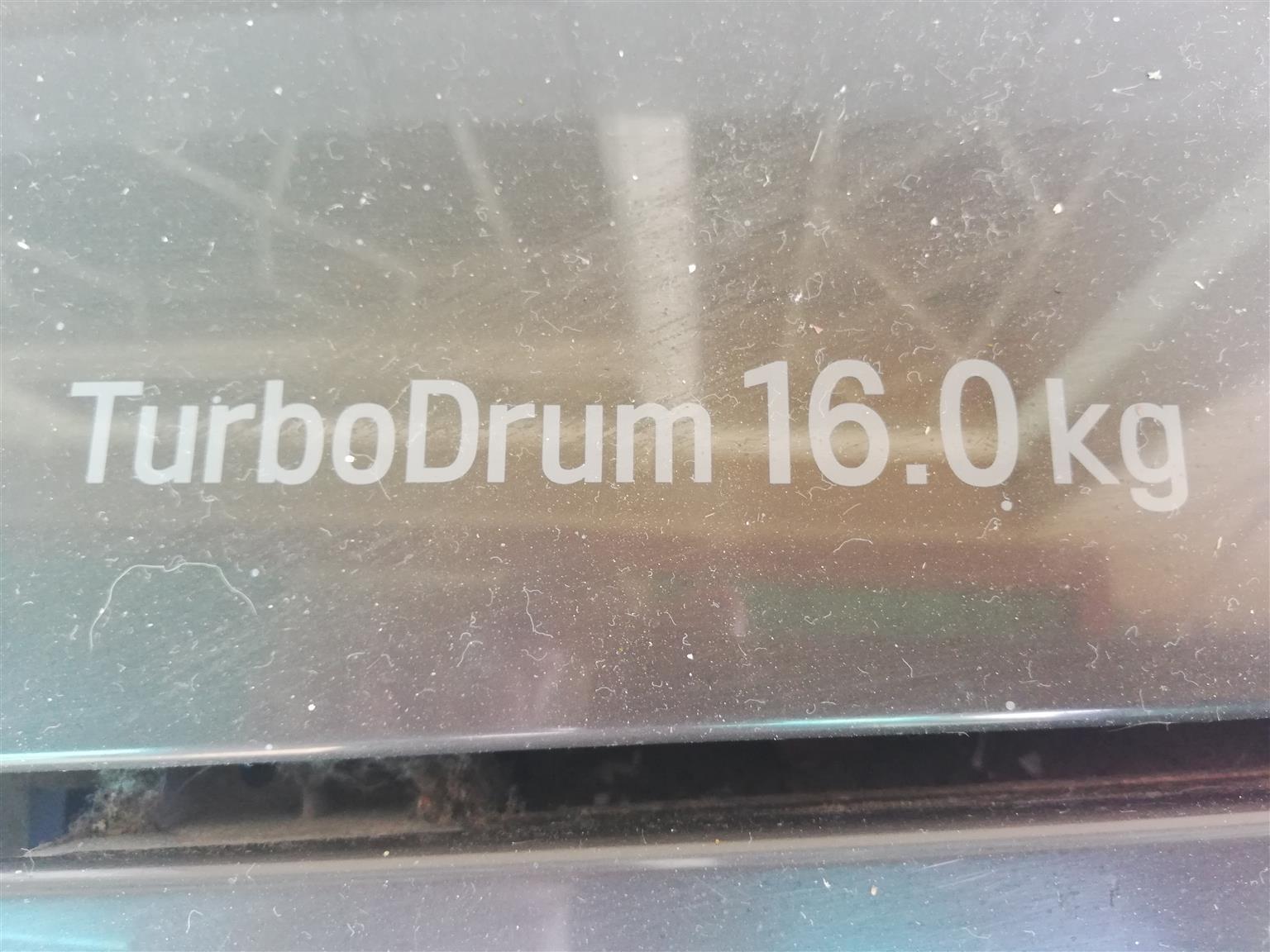 LG 16kg turbo drum washing machine