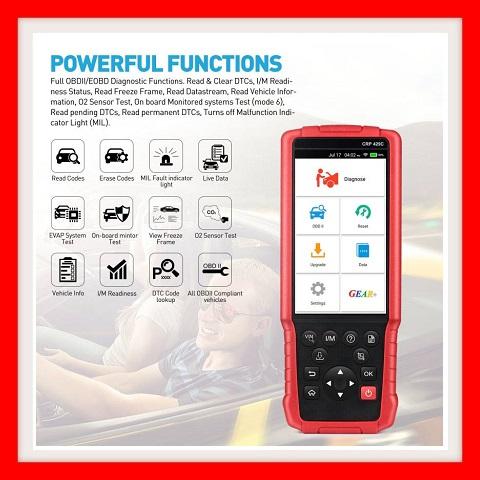 Car Tool: LAUNCH X431 CRP 429C 4 Auto Diagnostic Systems