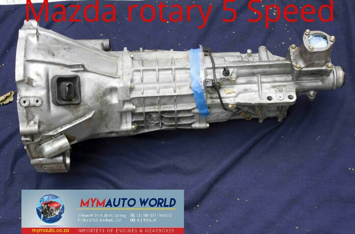Imported used MAZDA ROTARY 5 SPEED gearbox Complete