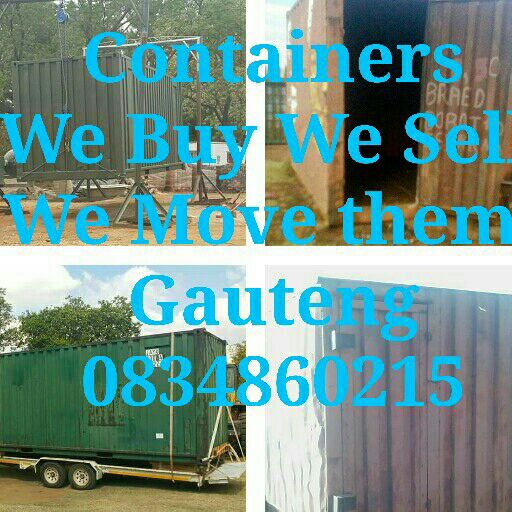 Containers We Buy We Sell We Move