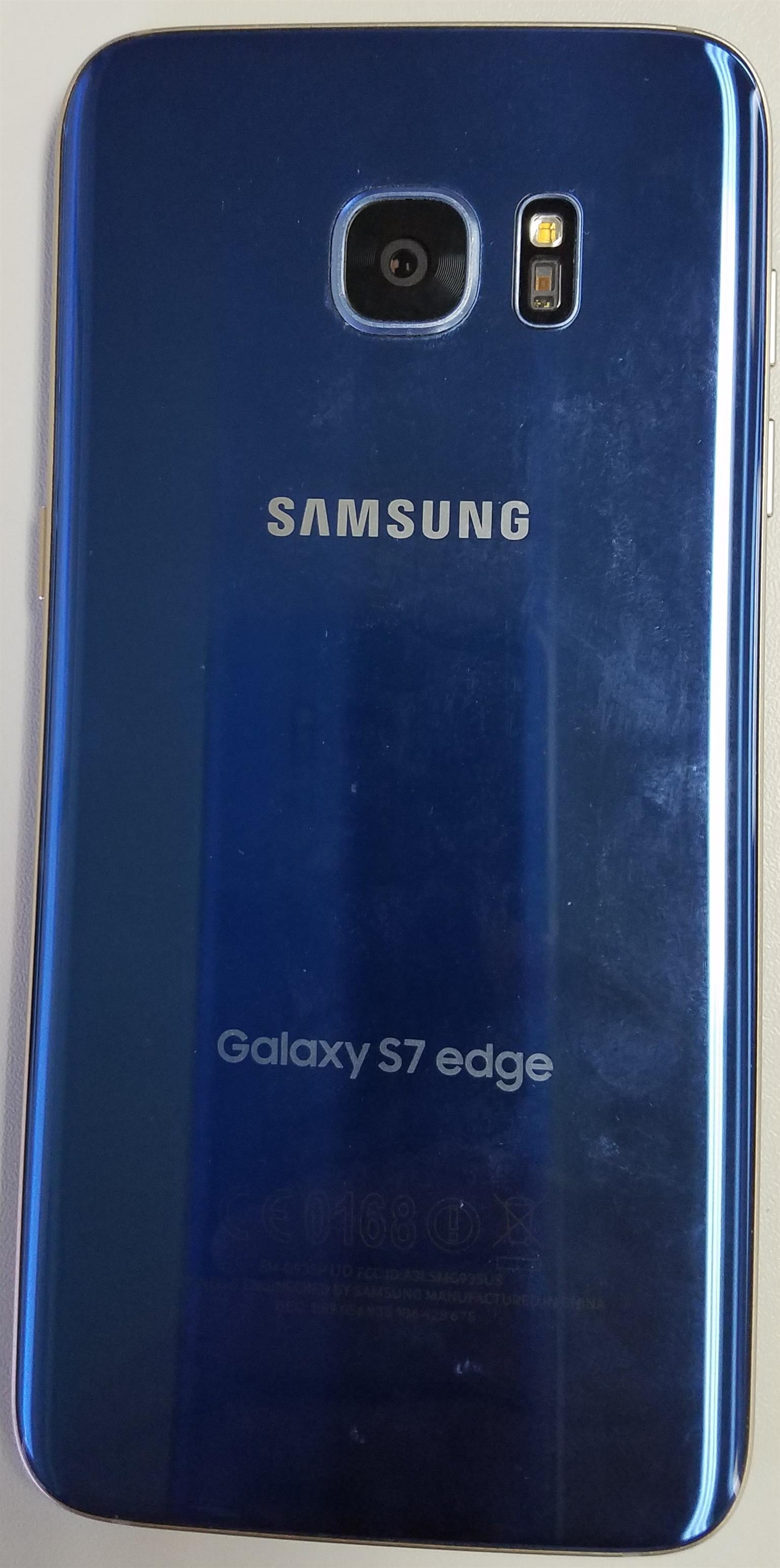 Samsung S7 Edge 32gb Junk Mail Galaxy 32 Gb Smartphone Coral Blue