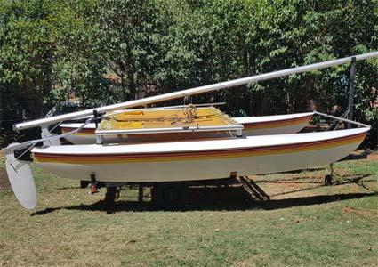 Catamaran for Sale.