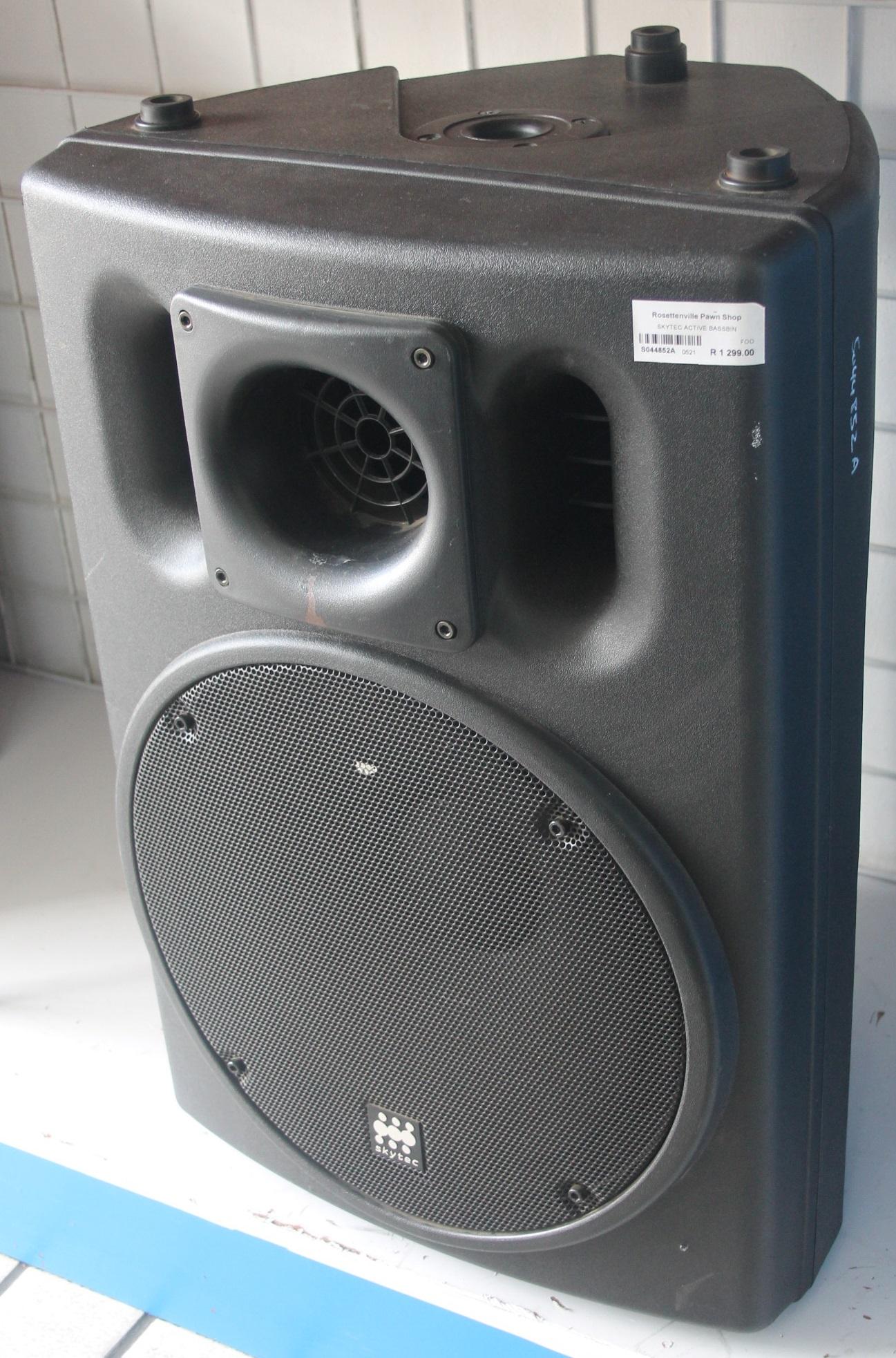 Skytec active bassbin S044852A #Rosettenvillepawnshop