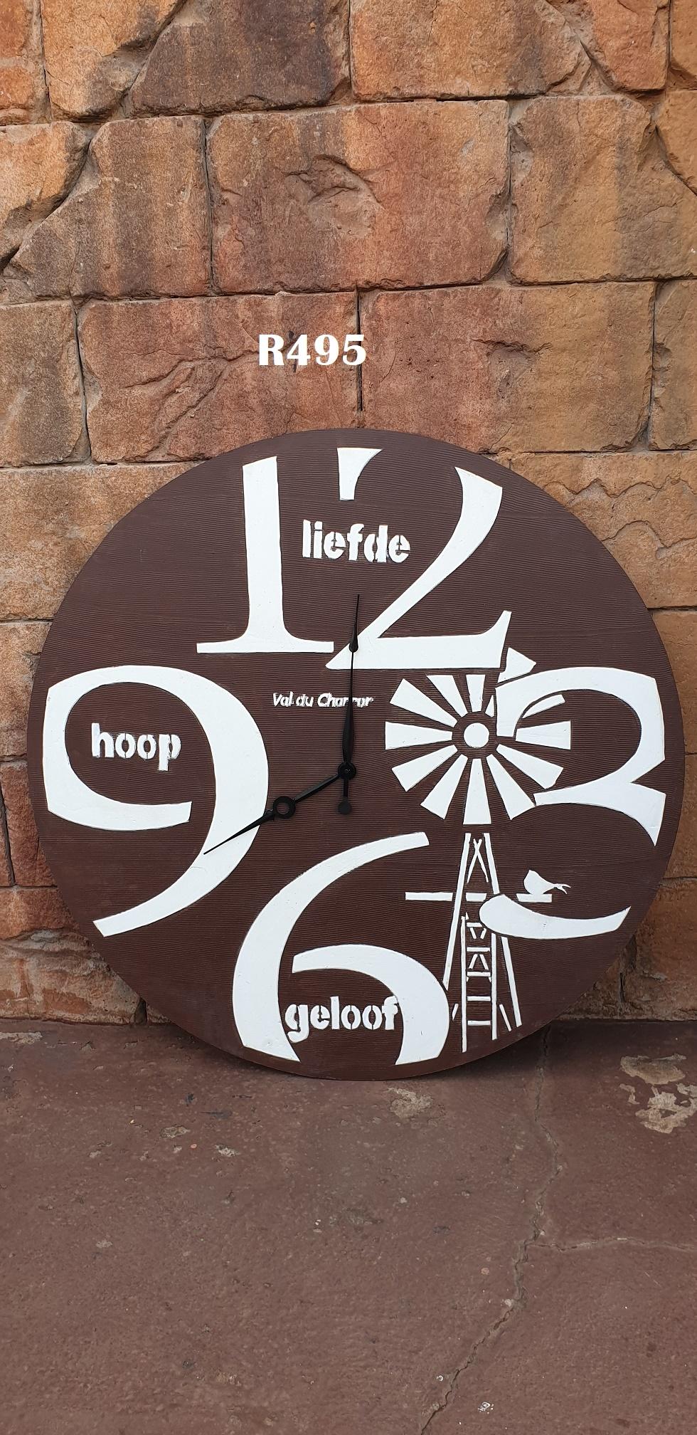 Massive Wall Clock (D 1130mm)
