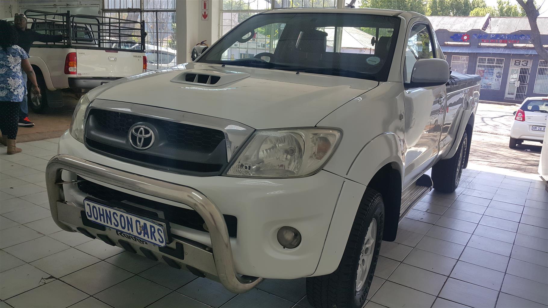 2010 Toyota Hilux single cab HILUX 2.8 GD 6 RB RAIDER P/U S/C