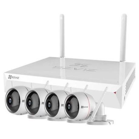 EZVIZ 8CH NVR plus 4 Wireless Camera Kit