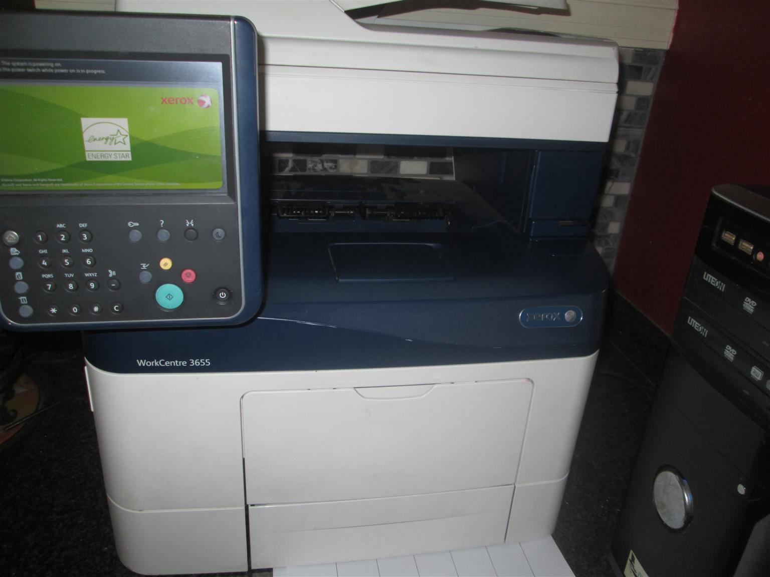 Zerox 3655 workstation