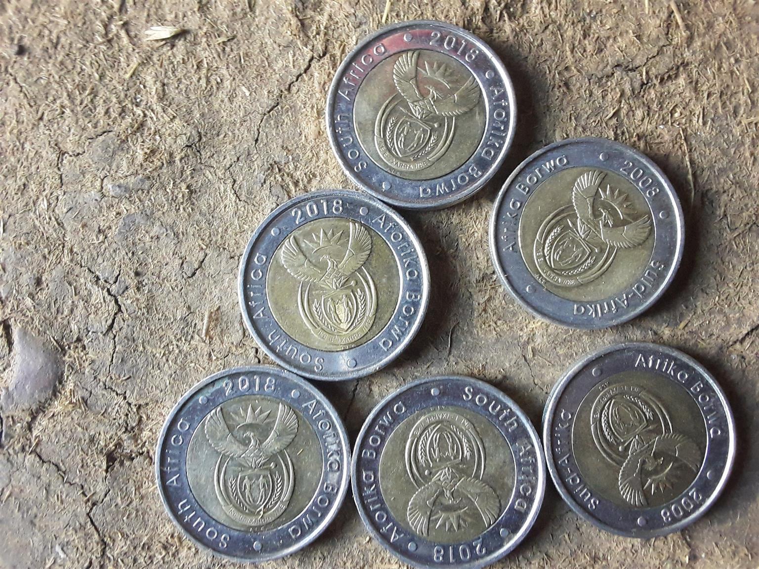 Mandela coins available