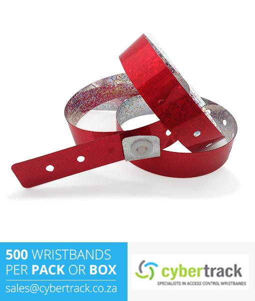 500 Hologram Wristbands