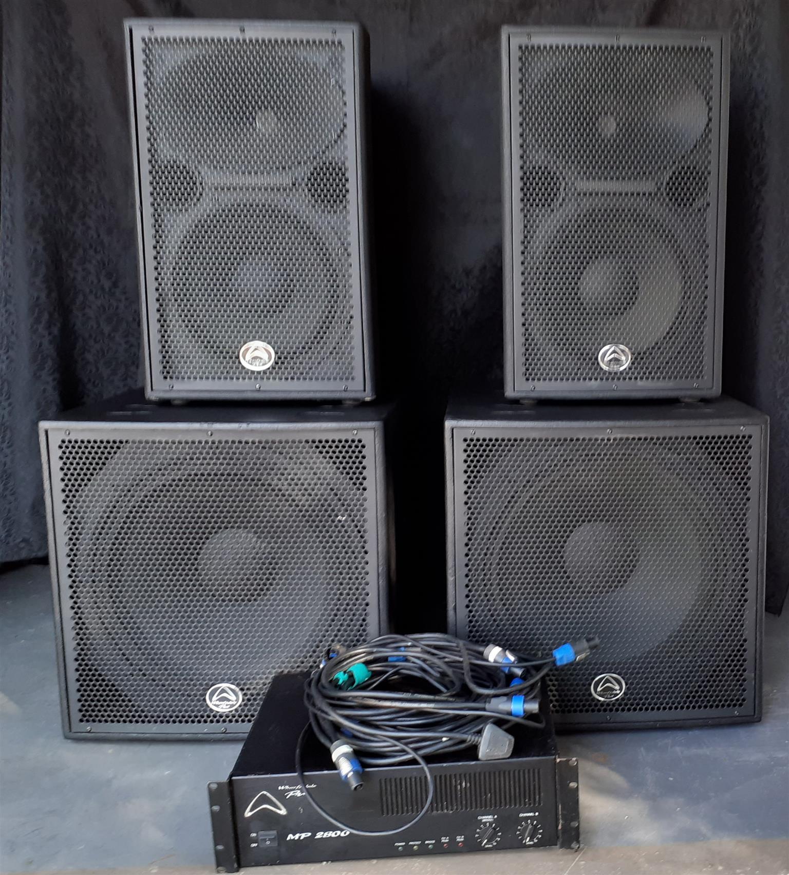 Sound System - Wharfdale 2800W