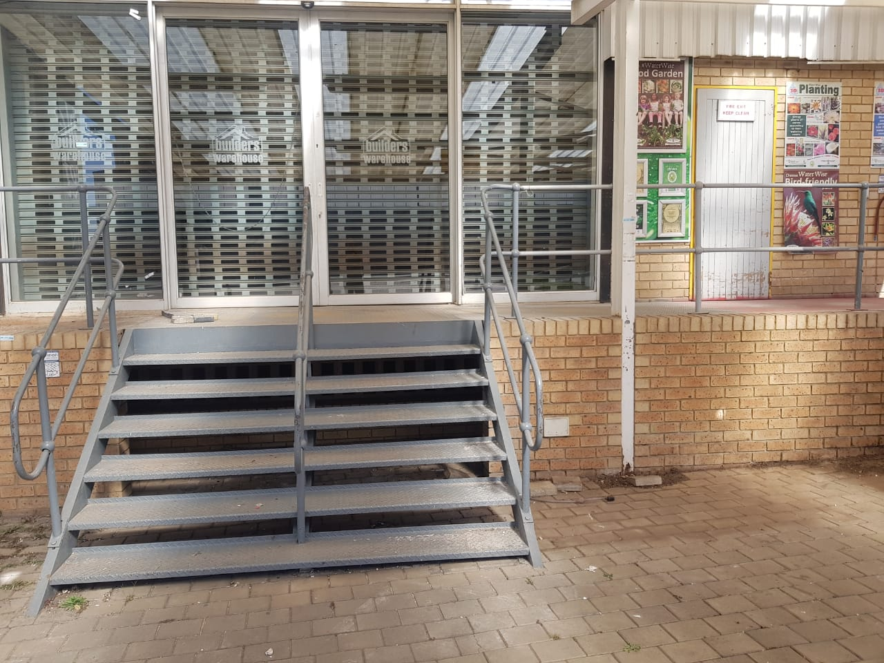 STEEL BALUSTRADE AND STAIRS FOR SALE