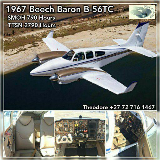 1967 BEECHCRAFT BARON B-56TC