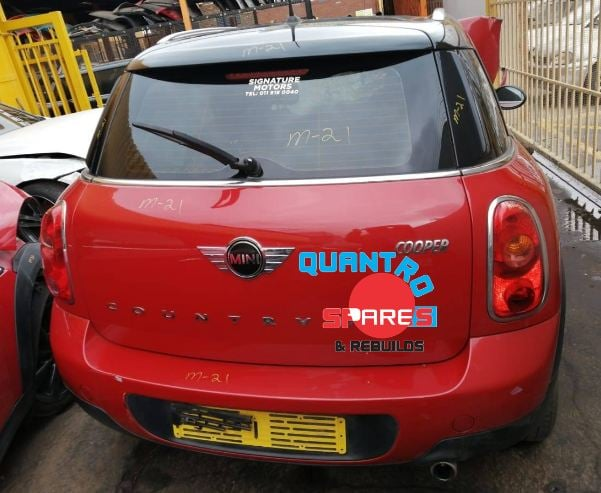 Mini Cooper Countryman R60 N16 stripping for spares