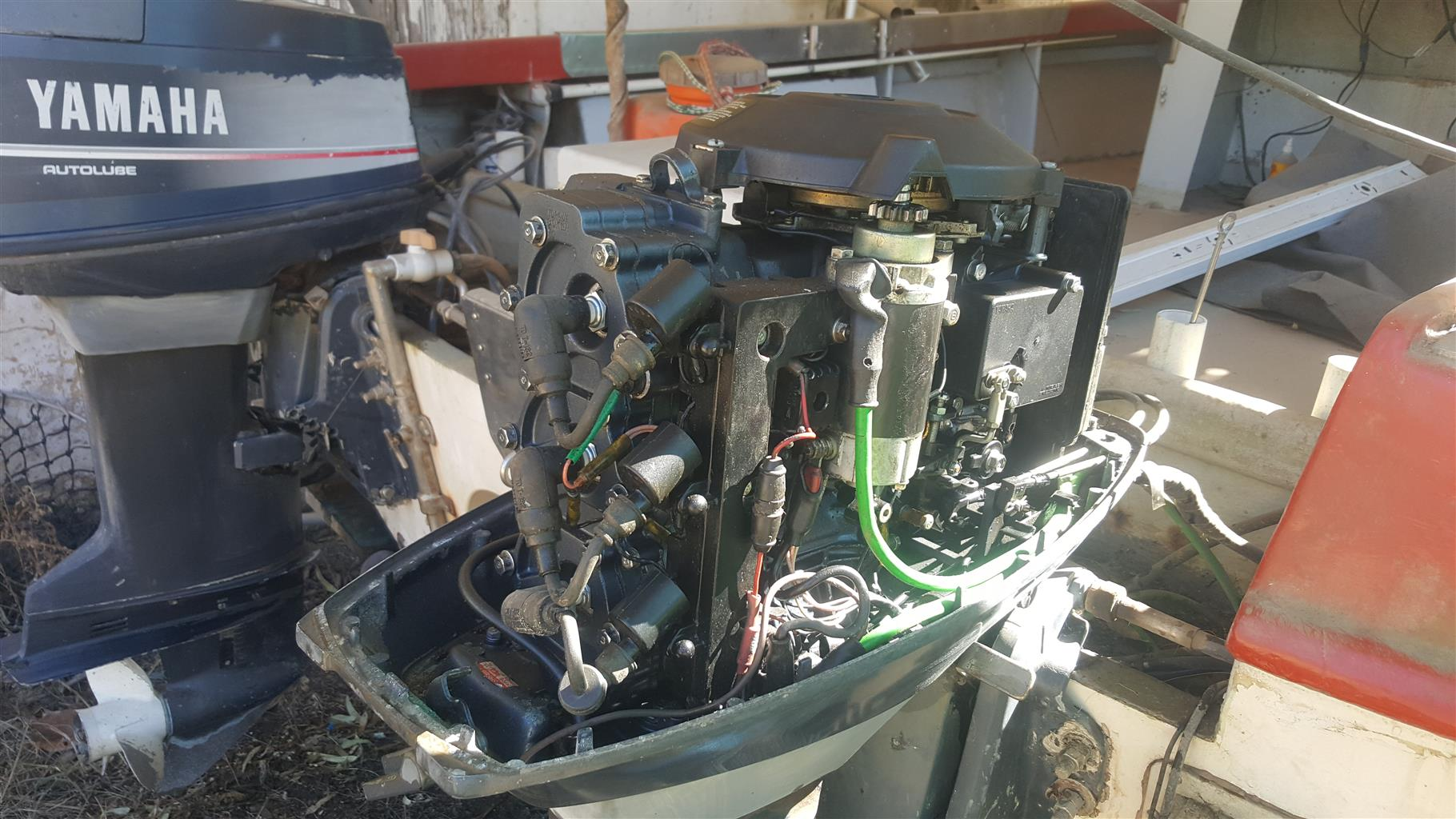 50hp Yamaha outboard motors