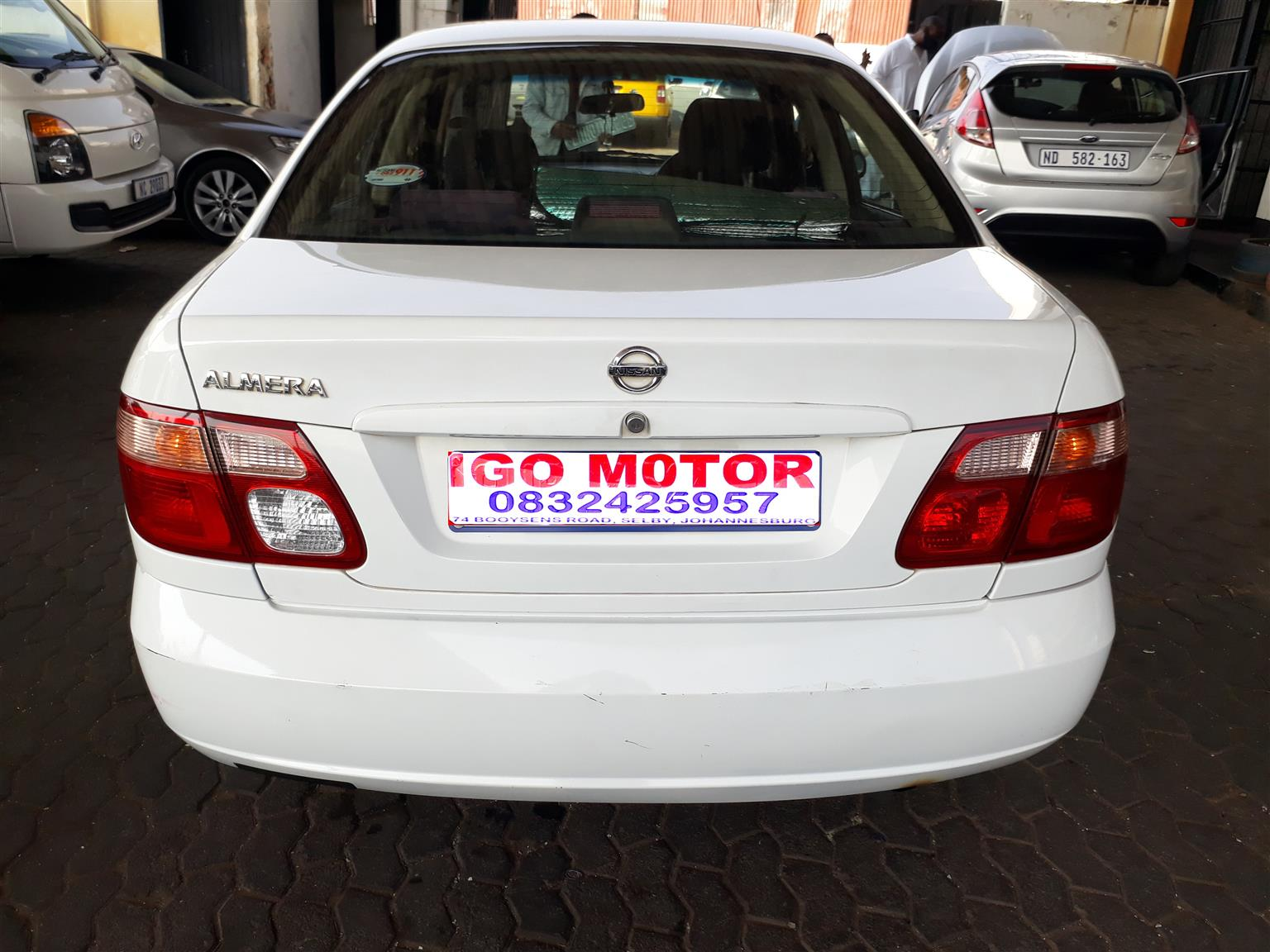 2005 Nissan Almera 1.6 Luxury automatic