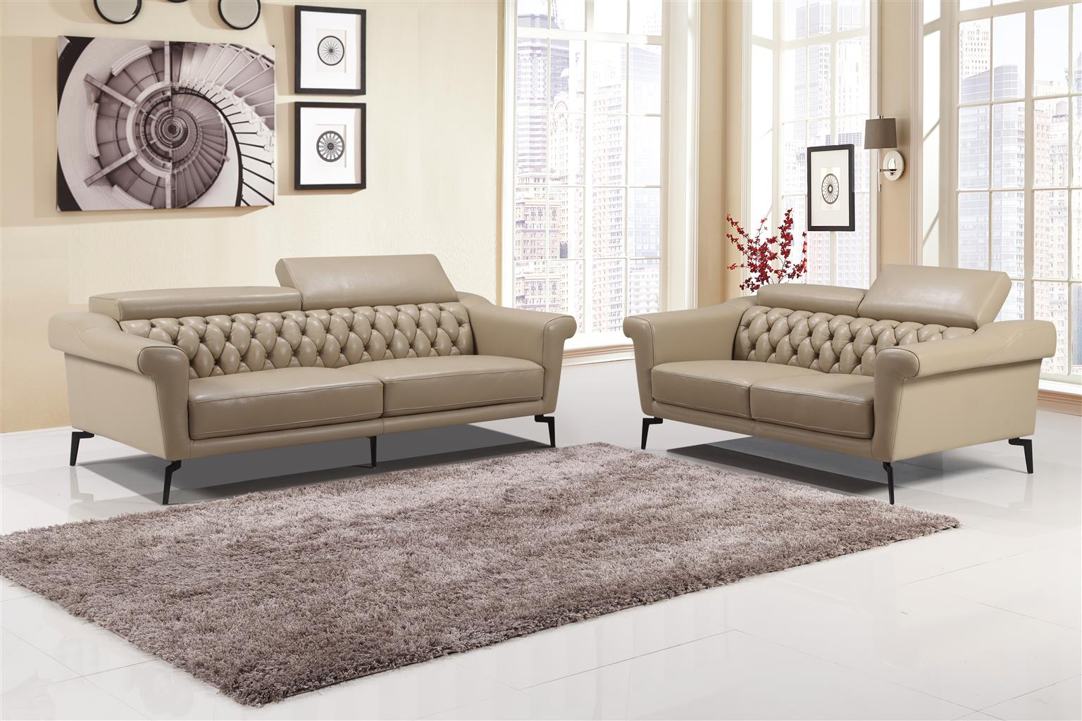 Chesterfield Lounge Suite Brand New For Only R 12 499