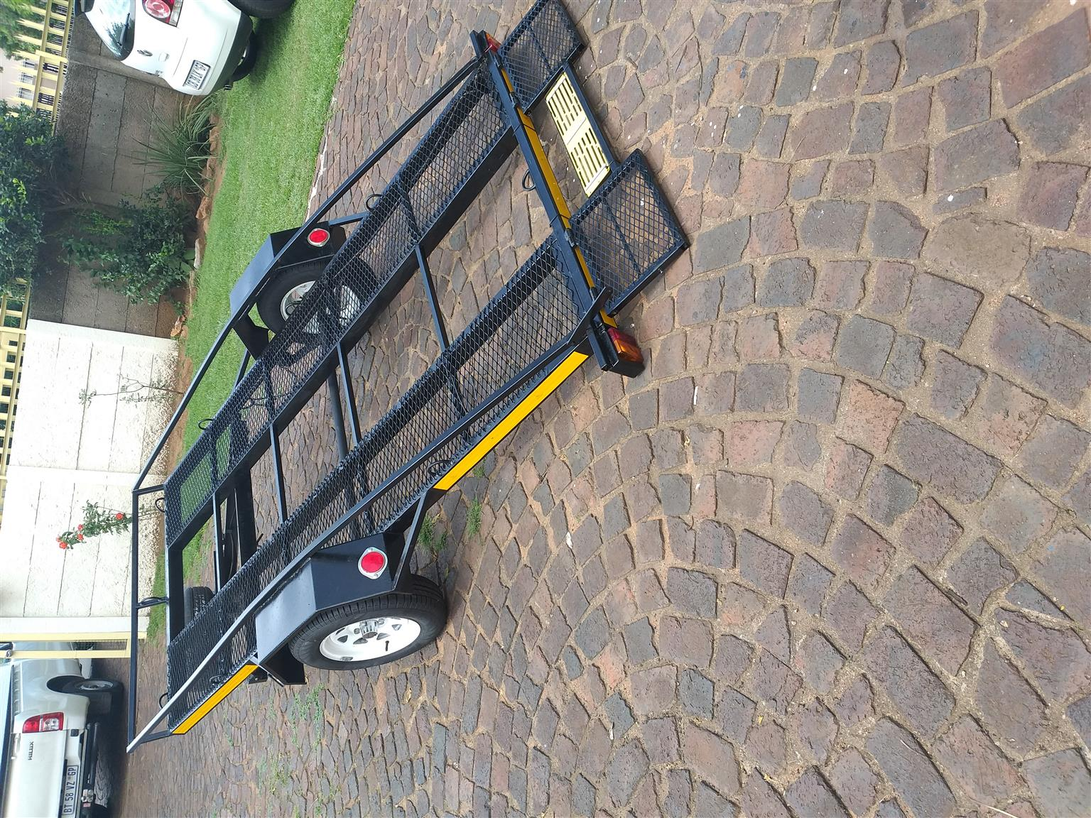 Golf cart trailer