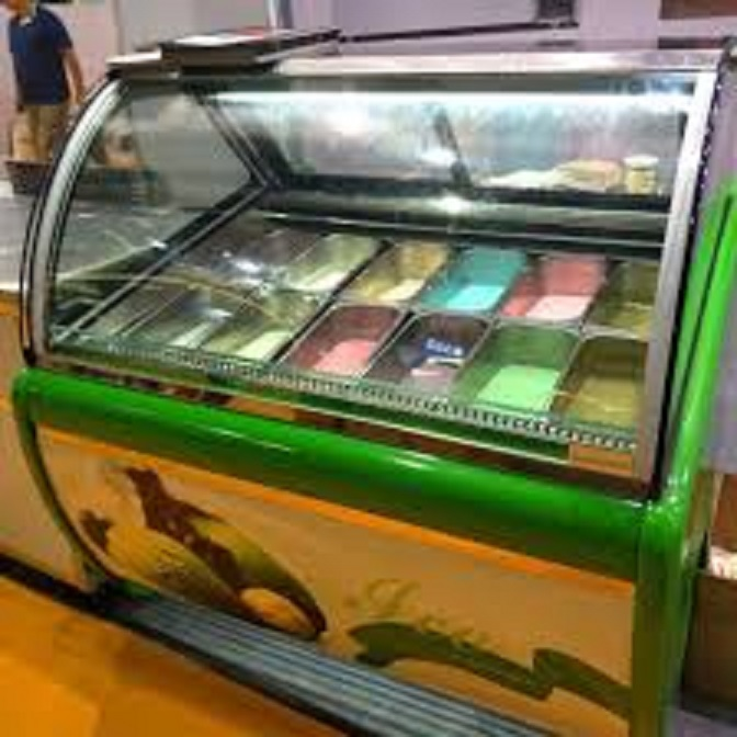 Ice Cream Scoop Display