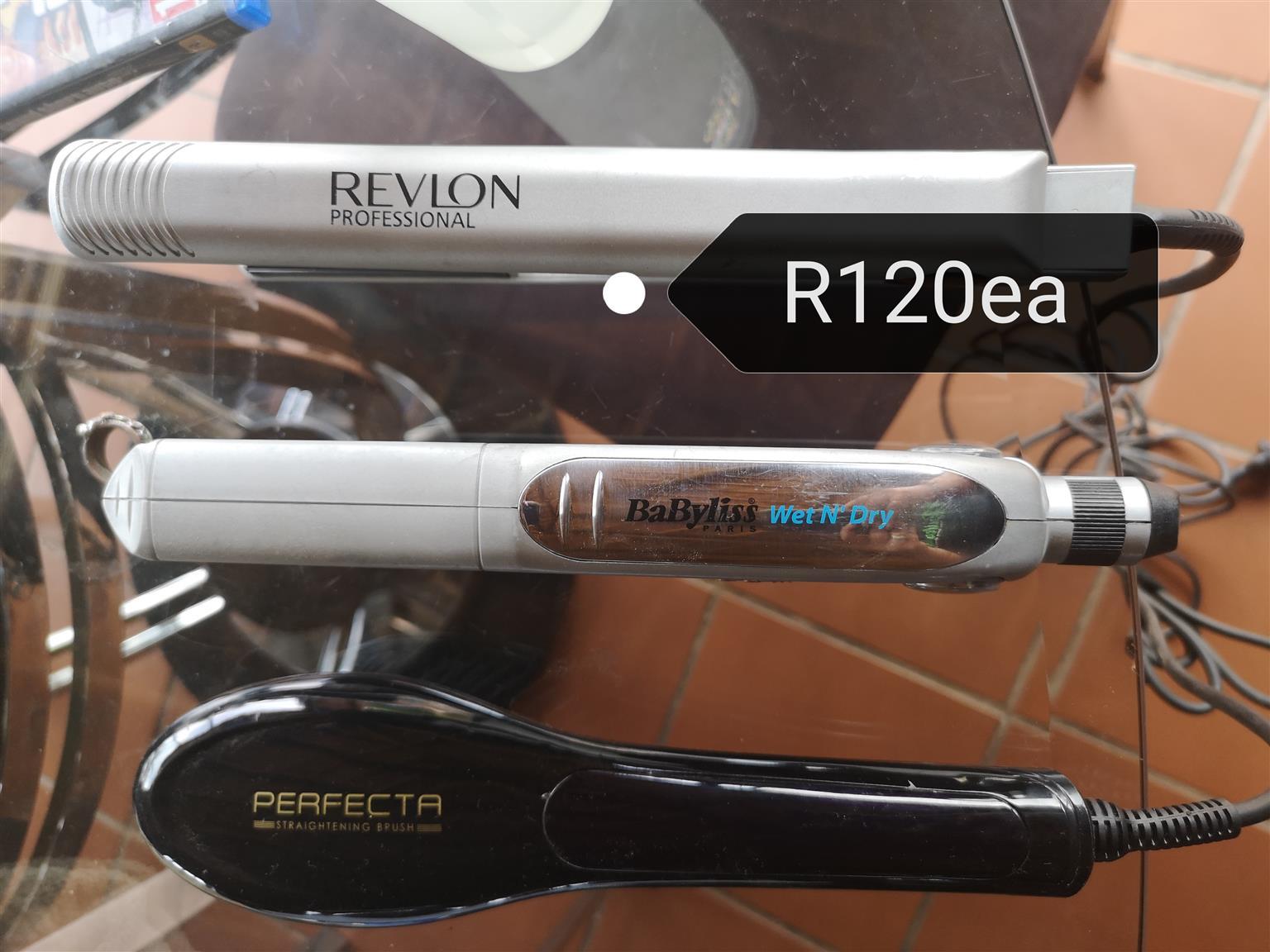 Straightening Brush & Irons