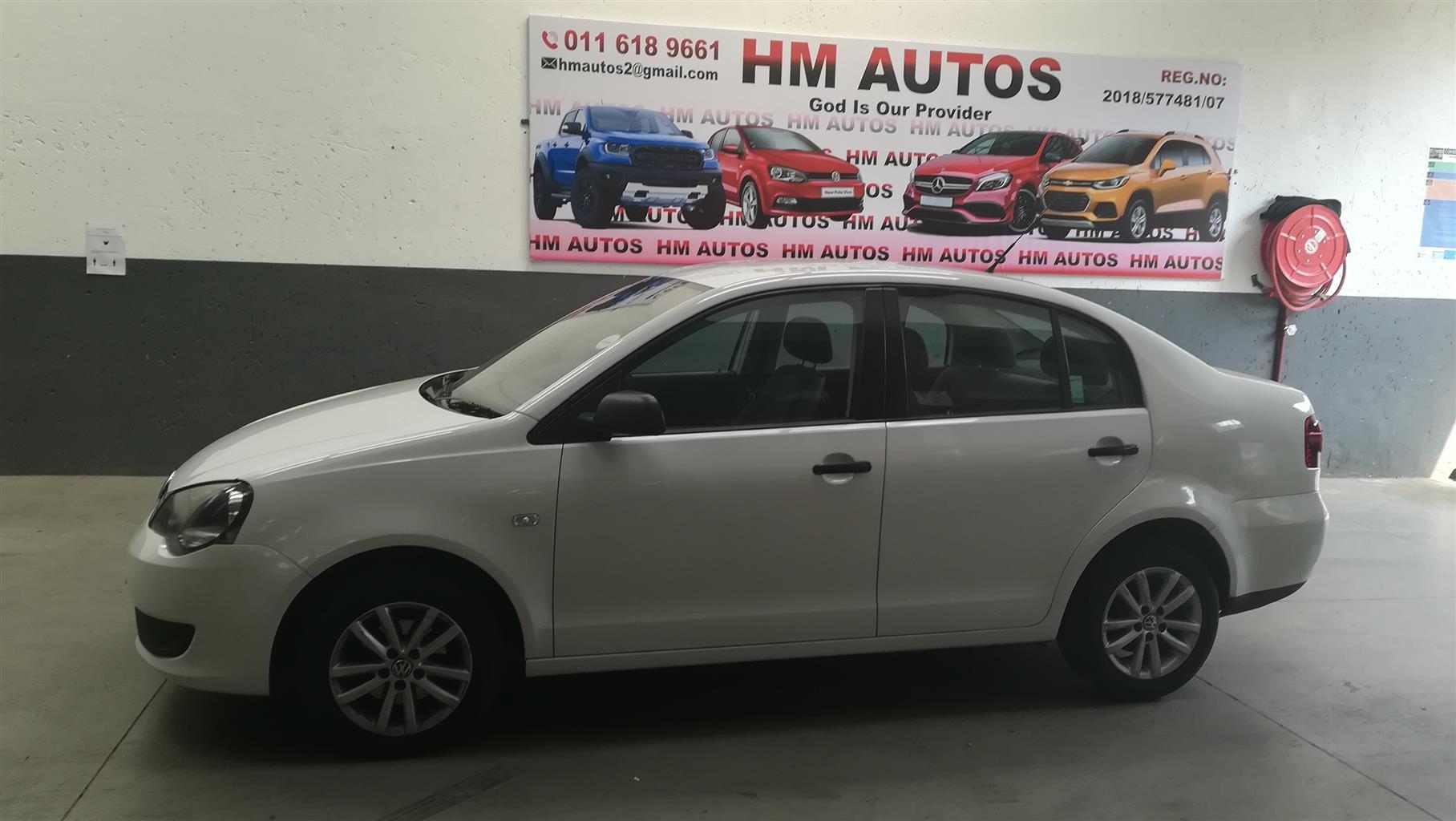 2012 VW Polo Vivo sedan 1.6 Trendline