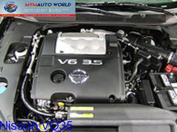 Imported used  NISSAN PATHFINDER/MAXIMA 3.5L V6, VQ35 engine Complete