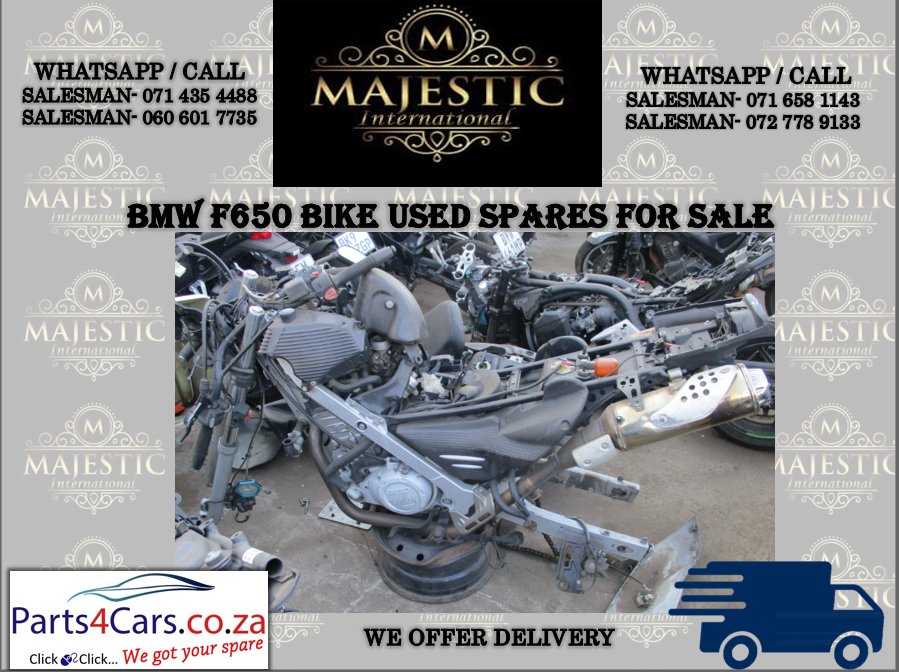 BMW F650 used spares for sale