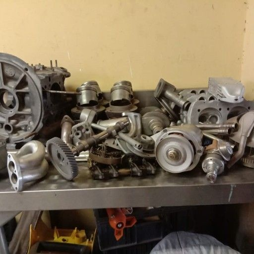 VW 1600 Twinport engine