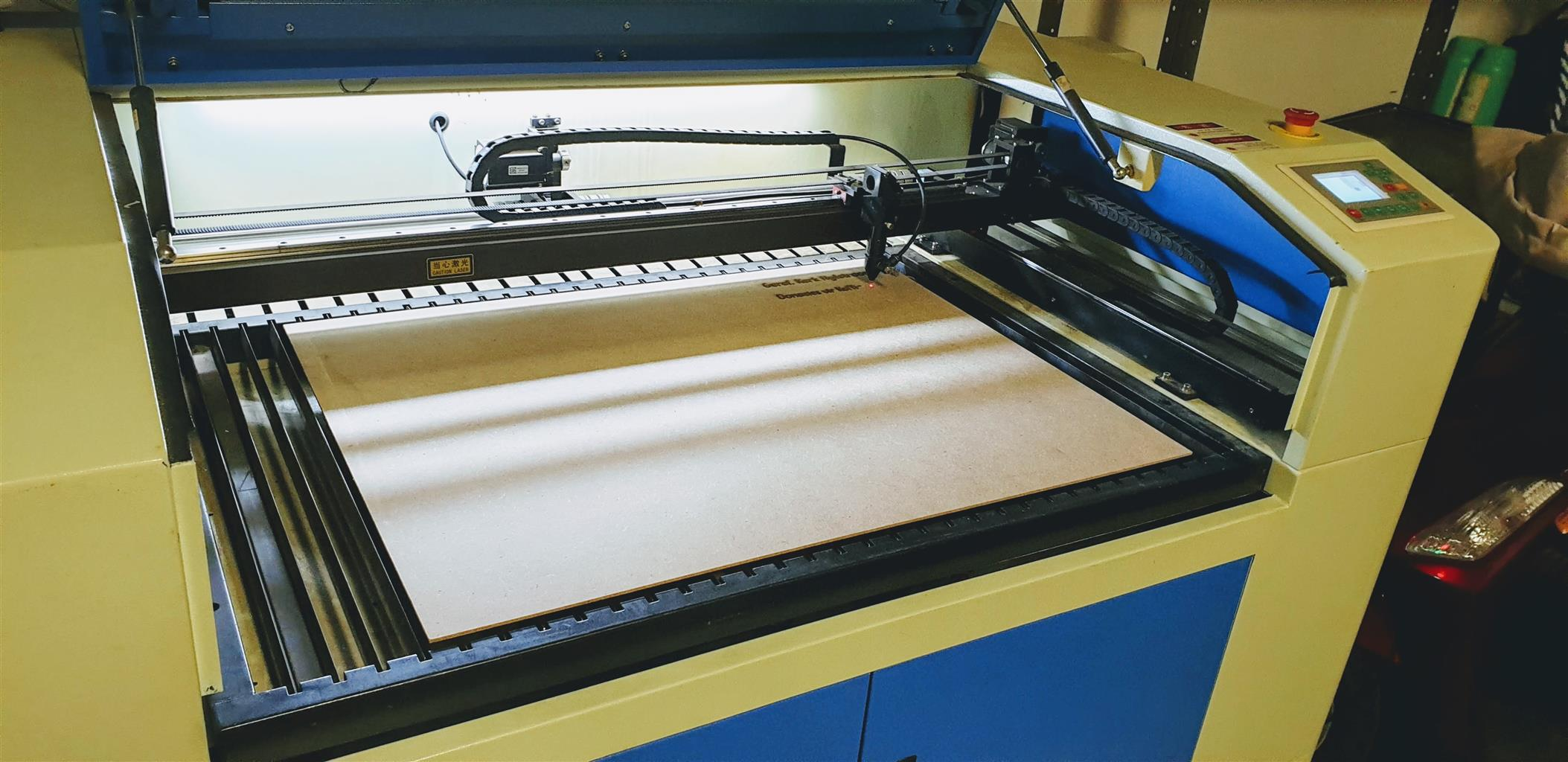 Industrial size Laser cut and engraving machine