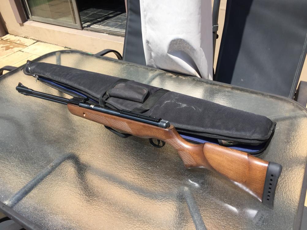 Under lever air rifle