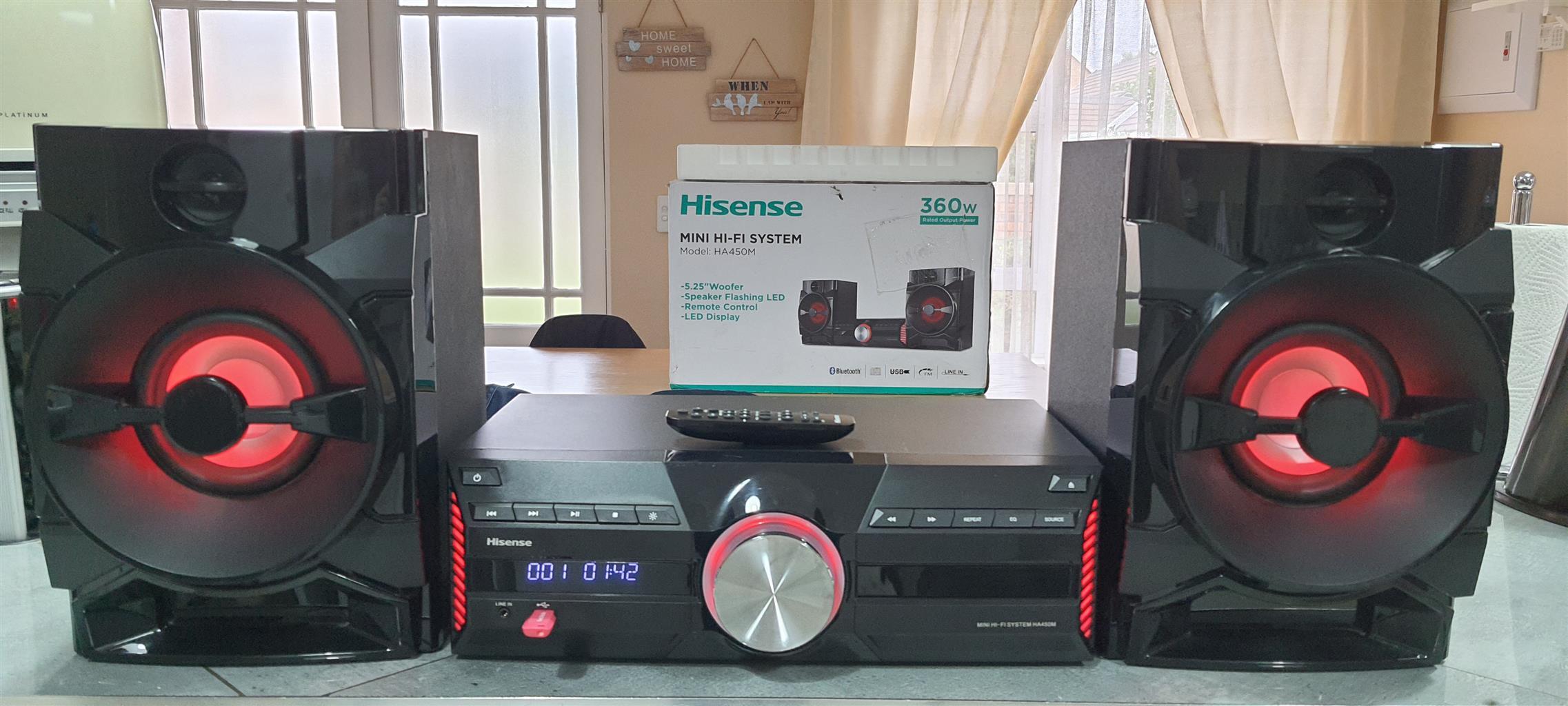 2 x Sound Systems - Powerful Hisense Hifi's