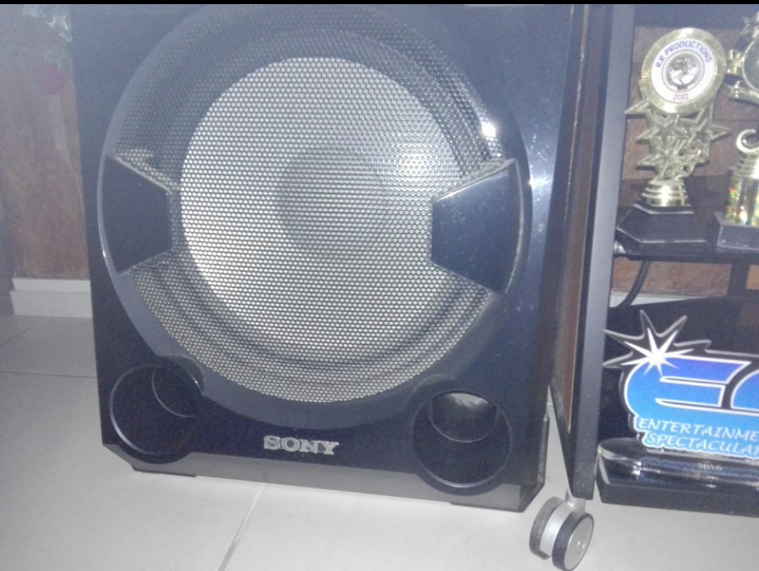 Sony shake home theater system