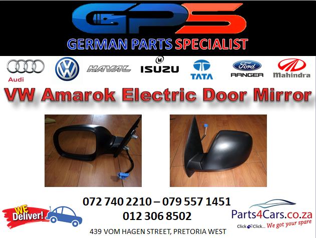 New VW Amarok Black Electrical Door Mirror for Sale