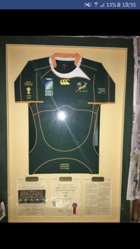 Limited Edition Springbok Jersey