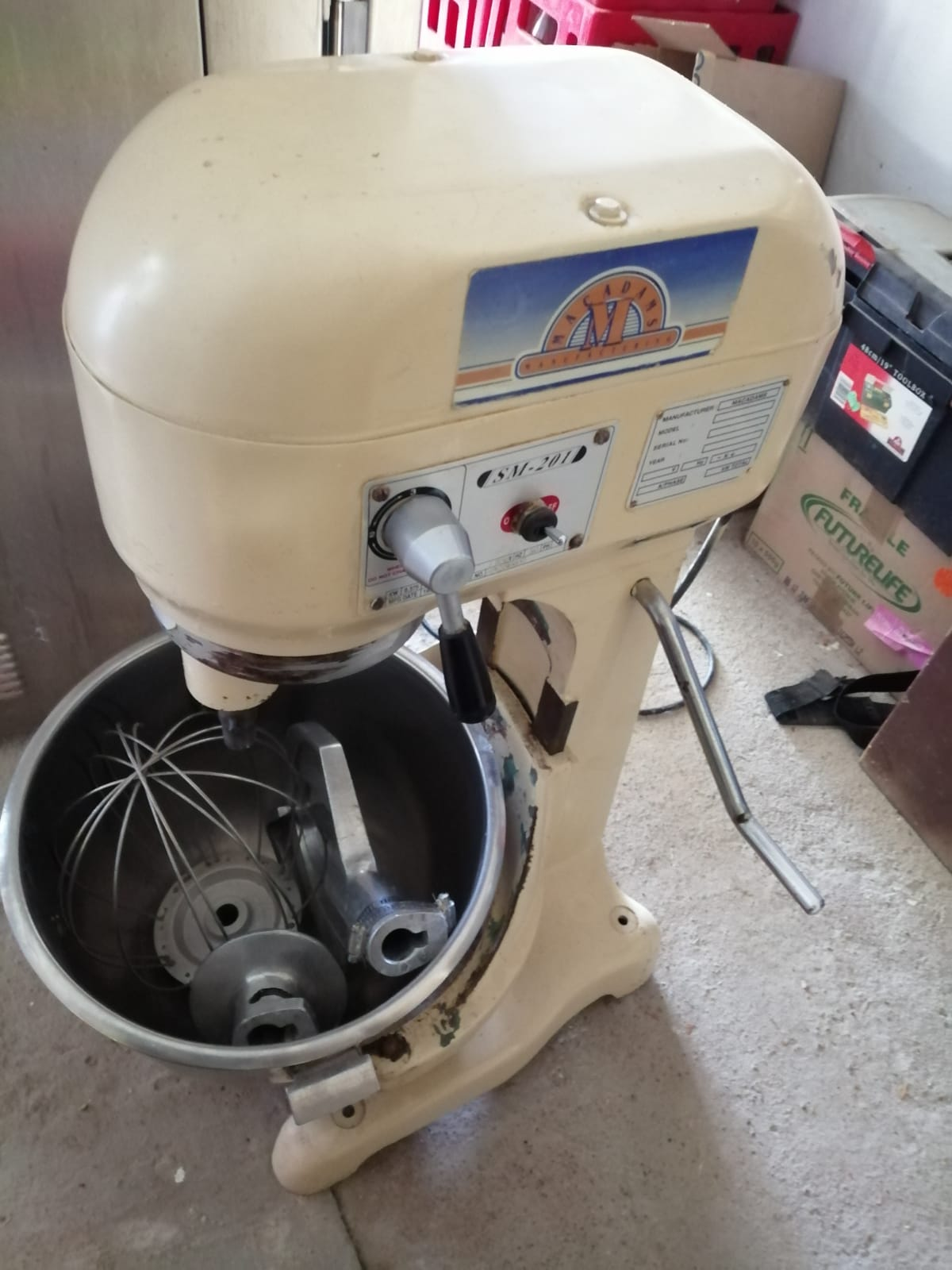 Cookie/Rusk manuf and baking line